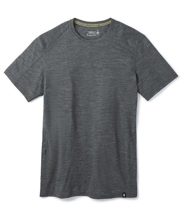 スマートウール レディース シャツ トップス Merino Sport150 Hidden Pocket Short-Sleeve Tech Tee Medium Gray Heather