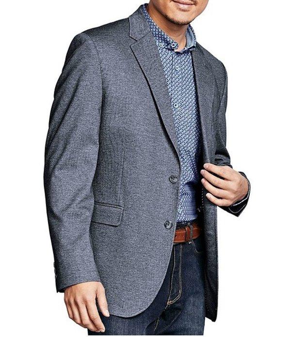 ジョンストンアンドマーフィー レディース ジャケット・ブルゾン アウター XC4 Stretch Knit Blazer Gray