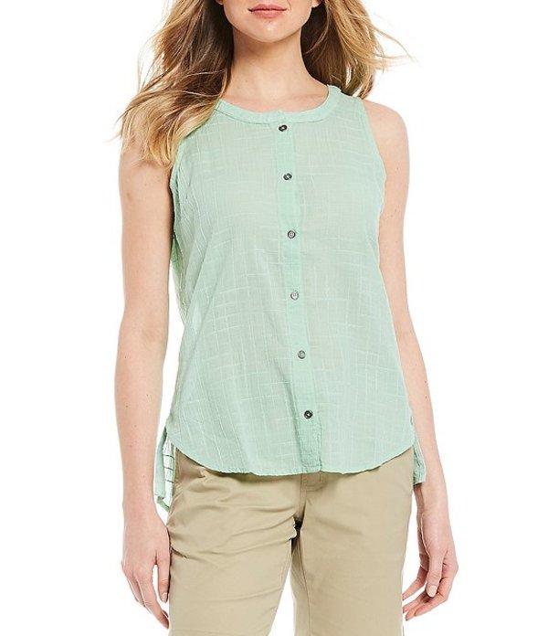 コロンビア レディース Tシャツ トップス Summer Ease Sleeveless Button Front Shirt New Mint