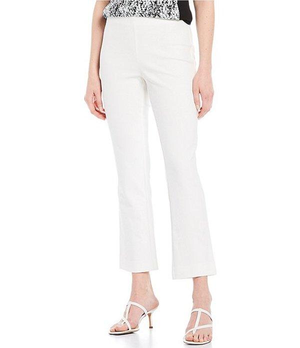ジョーンズニューヨーク レディース カジュアルパンツ ボトムス Super Stretch Cotton-Blend Pull-On Ankle Pants Ivory