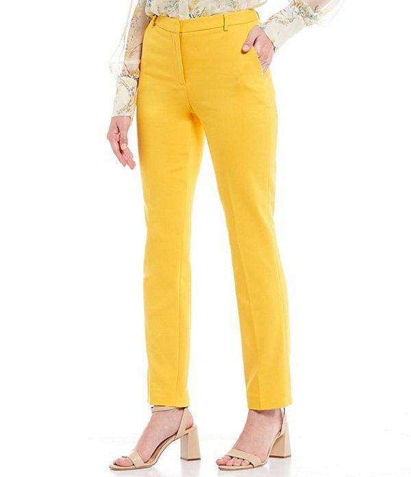 アントニオ メラーニ レディース カジュアルパンツ ボトムス Gilda Double Face Straight Leg Linen Blend Pant Sunrise