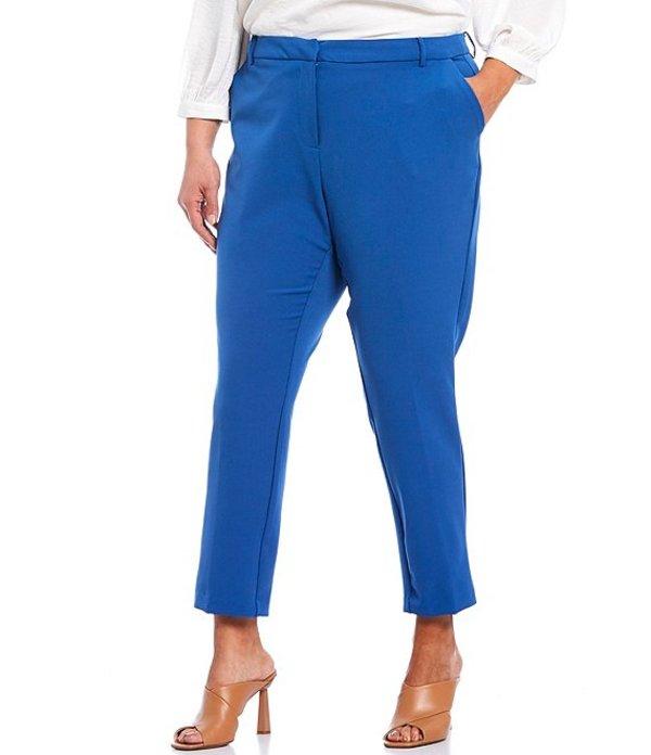 ヴィンスカムート レディース カジュアルパンツ ボトムス Plus Size Slim Leg Ankle Pants Dusk Blue