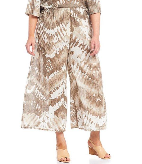 ブライン ウォーカー レディース カジュアルパンツ ボトムス Plus Size Eli Light Linen Pull-On Crop Pant Sand