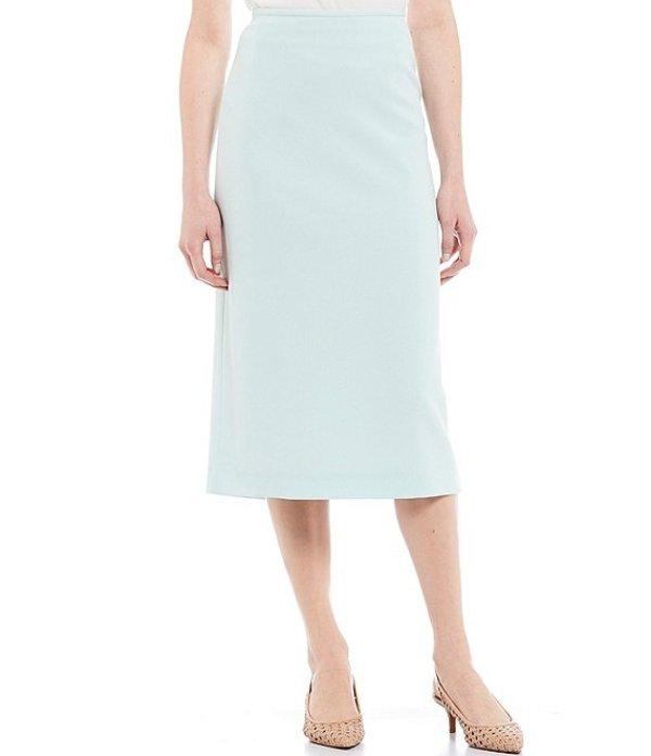 プレストンアンドヨーク レディース スカート ボトムス Taylor Stretch Crepe Suiting Midi Pencil Skirt Opal