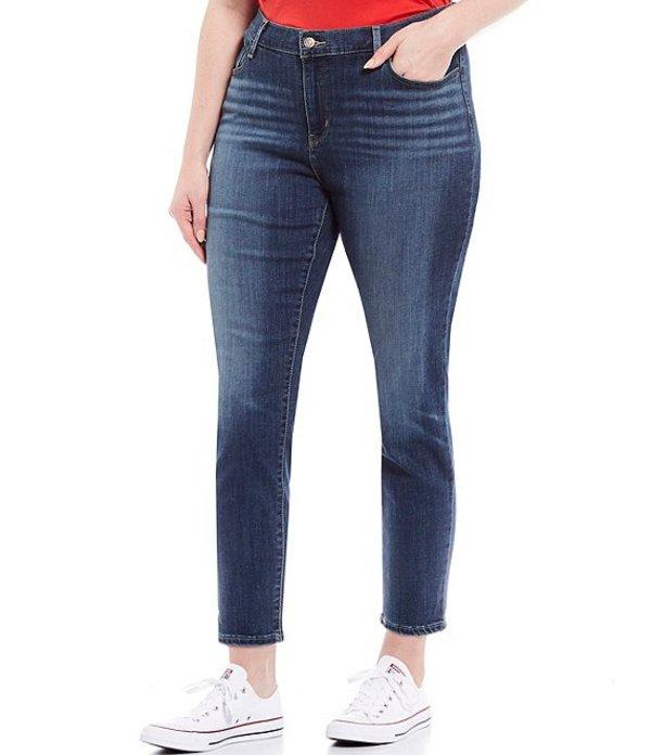 リーバイス レディース デニムパンツ ボトムス Levi'sR 711 Plus Size Skinny Ankle Jeans Maui Views Splash
