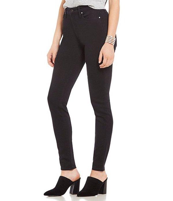 エラモス レディース デニムパンツ ボトムス High Rise Skinny Jeans OD Black