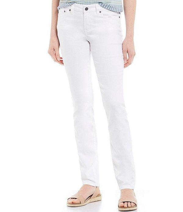 プラーナ レディース デニムパンツ ボトムス Kayla 5 Pocket Straight Leg Jean White