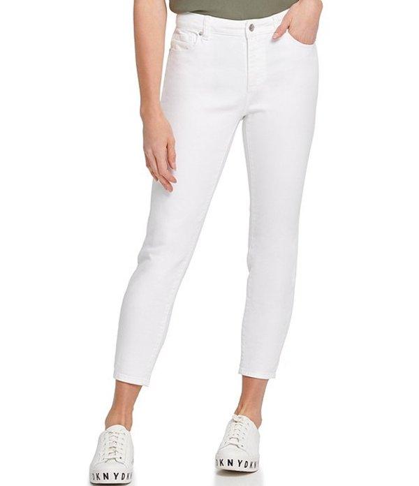 ダナ キャラン ニューヨーク レディース デニムパンツ ボトムス Jeans Skinny Leg Ankle Jeans White