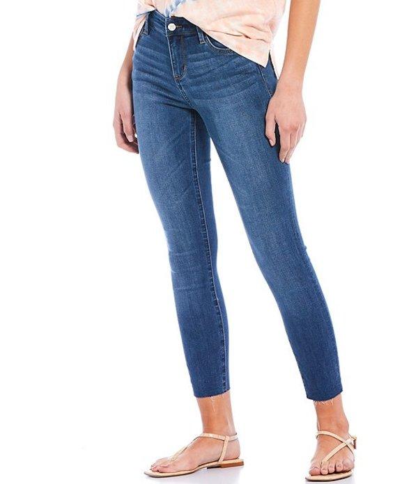サムエデルマン レディース デニムパンツ ボトムス Kitten Crop Mid Rise Raw Hem Jeans Sbelia
