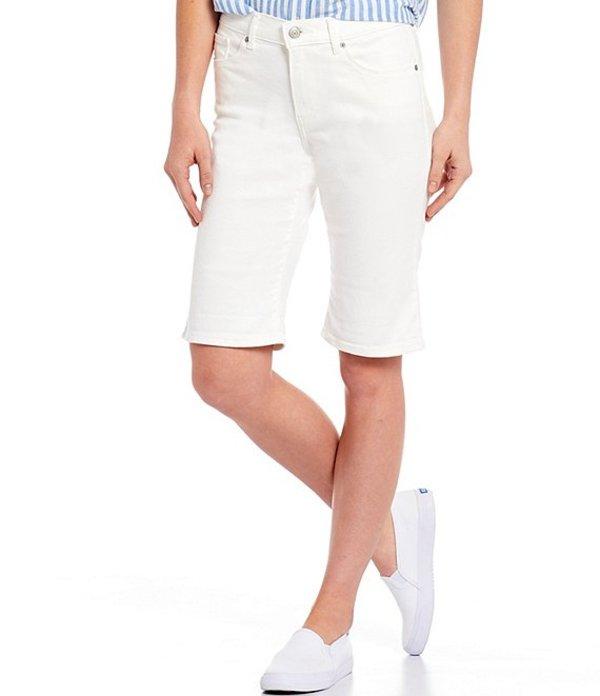 リーバイス レディース デニムパンツ ボトムス Levi'sR Mid-Rise Bermuda Shorts Simply White