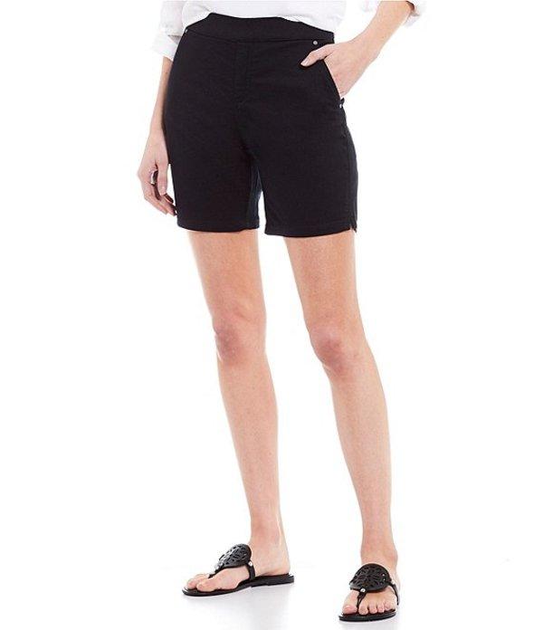 イントロ レディース ハーフパンツ・ショーツ ボトムス Rose Stretch Pull-On Shorts Ebony Black