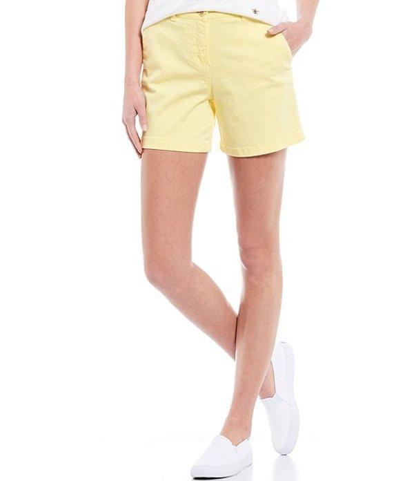 ジュールズ レディース ハーフパンツ・ショーツ ボトムス Cruise Mid Thigh Length Chino Short Lemon