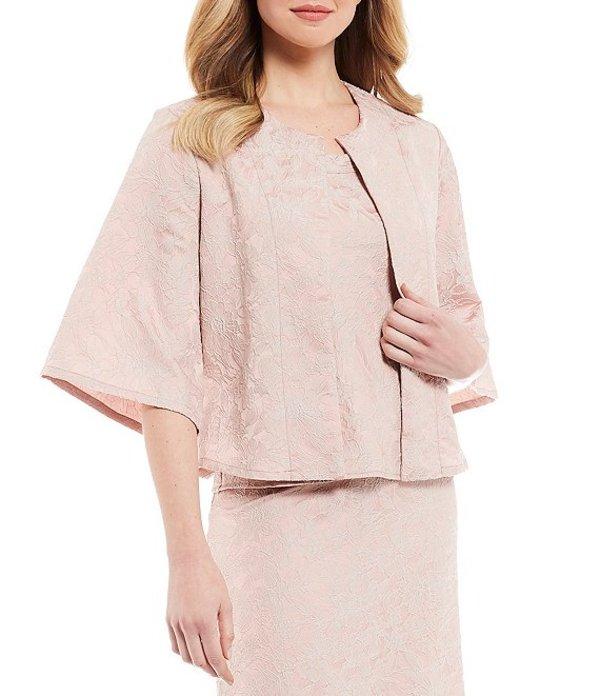 ブライン ウォーカー レディース ジャケット・ブルゾン アウター Calia Ready for Savannah Floral Texture Print 3/4 Bell Sleeve Jacket Blush
