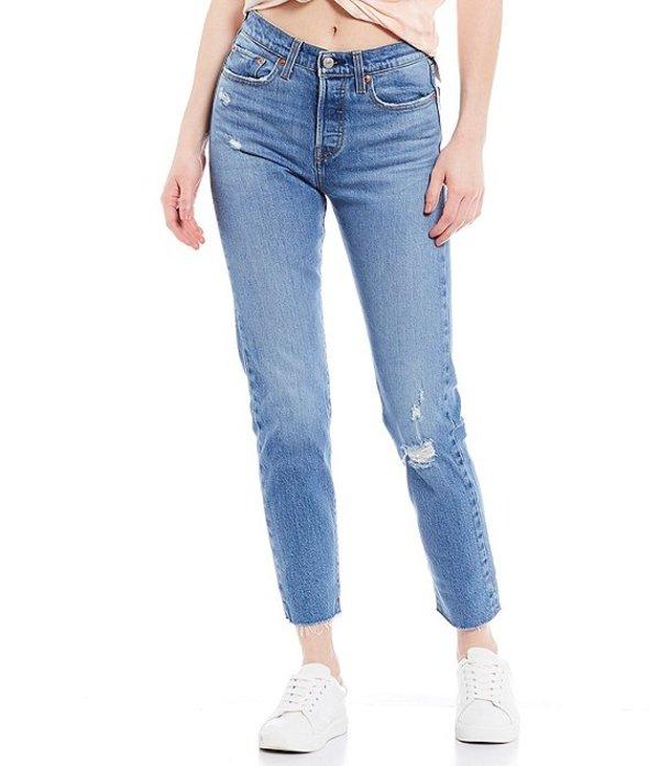 リーバイス レディース デニムパンツ ボトムス Levi'sR Jive Taps Wedgie Icon Fit High Rise Tapered Leg Ankle Jeans Jive Taps