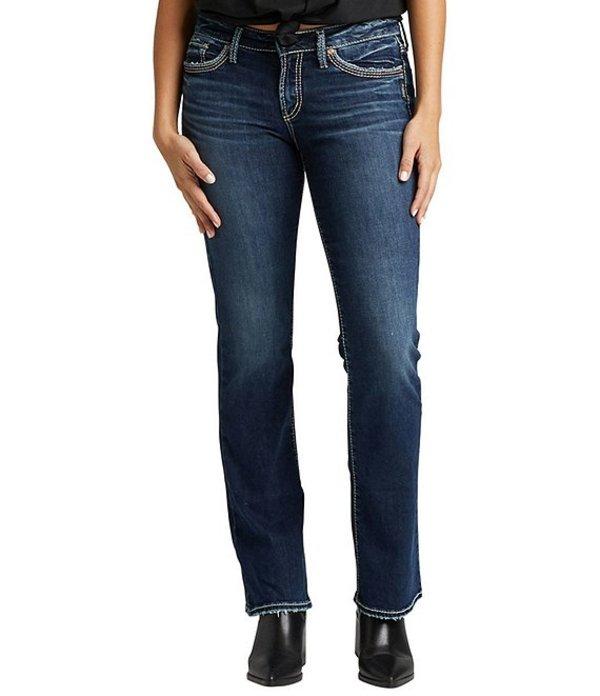 シルバー ジーンズ レディース デニムパンツ ボトムス Suki Mid Rise Slim Bootcut Jeans Indigo