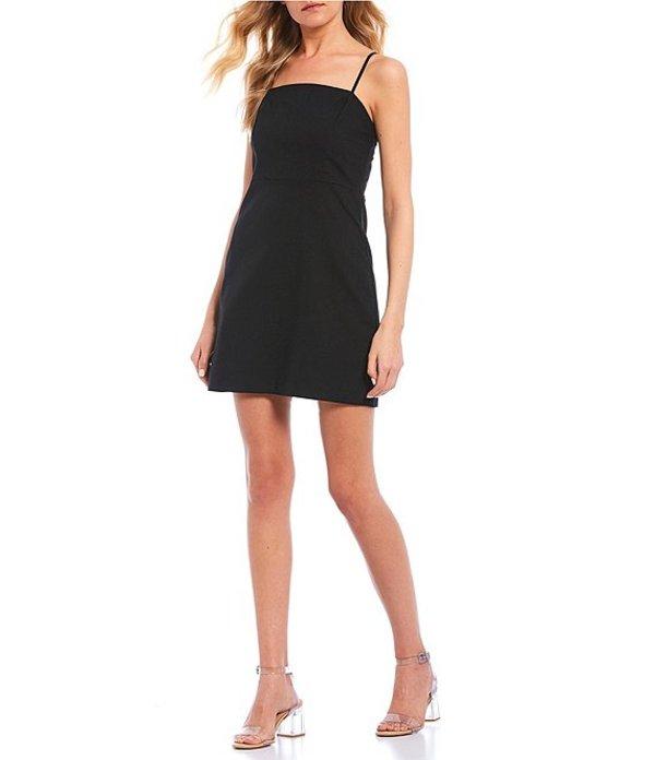 ジービー レディース ワンピース トップス Square Neck Empire Seam Dress Black