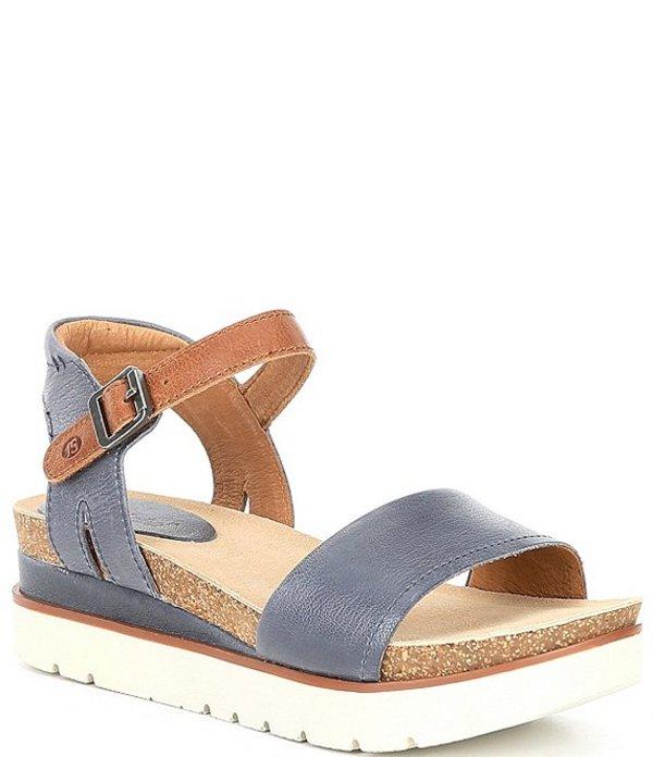ジョセフセイベル レディース サンダル シューズ Clea 01 Leather Platform Sandals Jeans