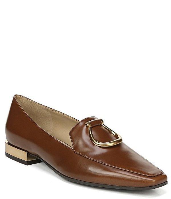 ナチュライザー レディース パンプス シューズ Corrine Leather Flats Brown