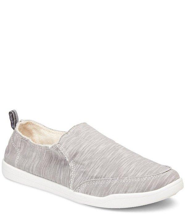 バイオニック レディース スリッポン・ローファー シューズ Malibu Cotton Slip On Sneakers Slate Grey