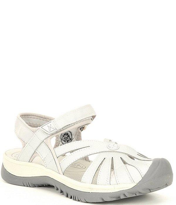 キーン レディース サンダル シューズ Rose Waterproof Sandals Light Grey/Silver