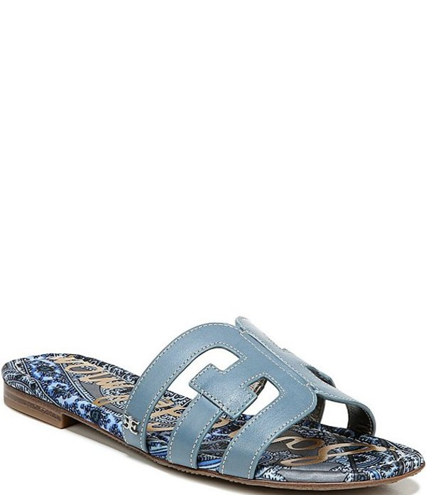 サムエデルマン レディース サンダル シューズ Bay Double E Sandals Smokey Blue