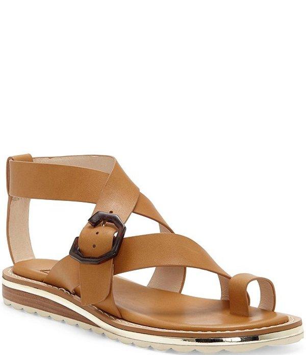 ルイスエシー レディース サンダル シューズ Louise Et Cie Esmond Toe Loop Leather Demi Wedge Sandals True Tan