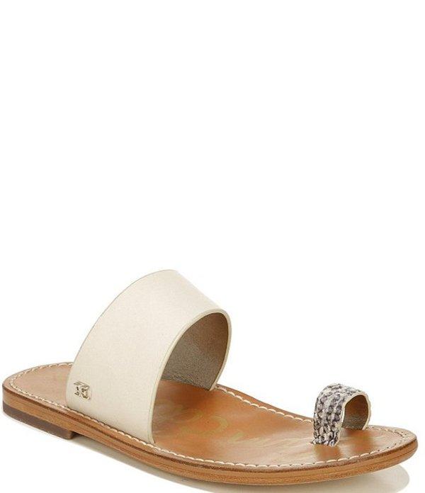 サムエデルマン レディース サンダル シューズ Maxy Leather Toe Ring Sandals Modern Ivory