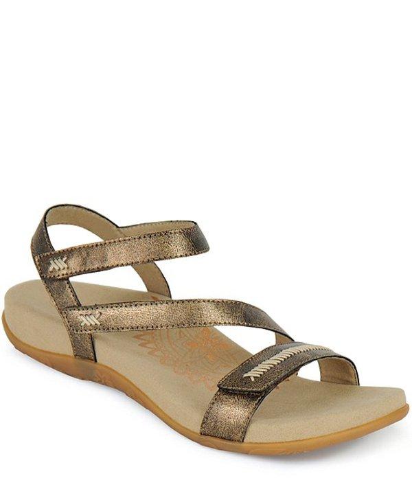 エイトレックス レディース サンダル シューズ Gabby Banded Stitch Detail Sandals Bronze