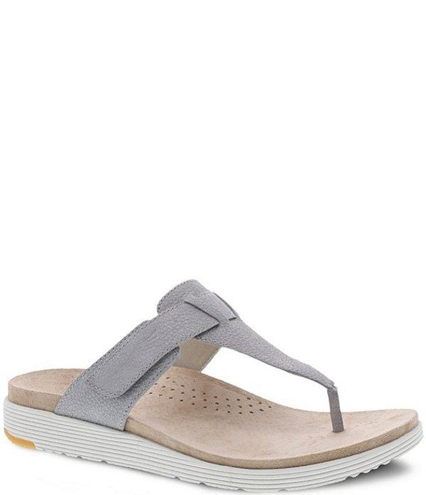 ダンスコ レディース サンダル シューズ Cece Metallic Leather Thong Sandals Pearl Metallic