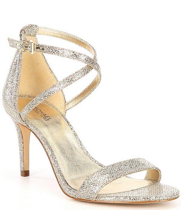 マイケルコース レディース サンダル シューズ MICHAEL Michael Kors Ava Glitter Sandals Sand