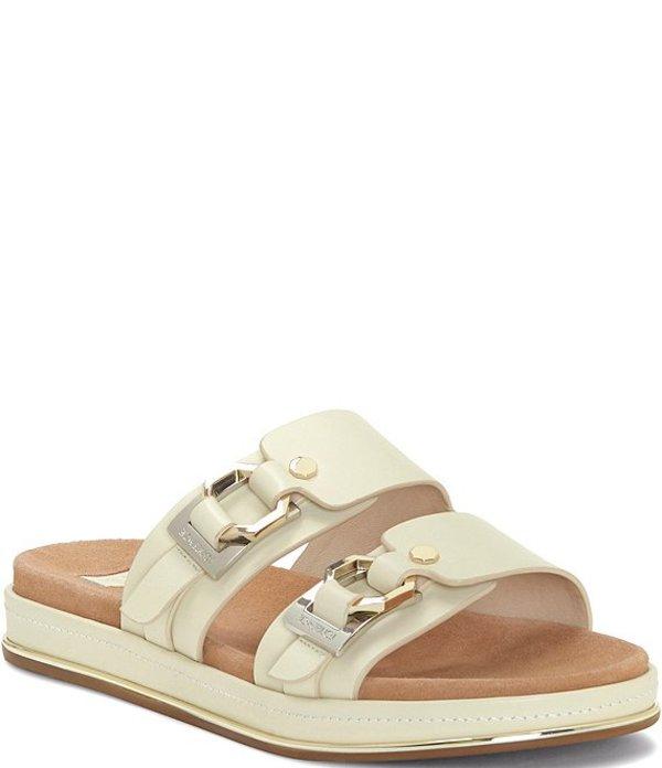 ルイスエシー レディース サンダル シューズ Louise Et Cie Alonsa Leather Sandals White