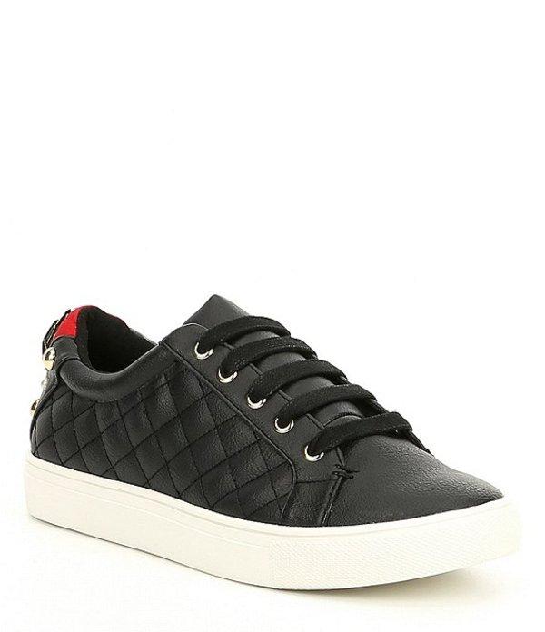 カートジェイガー レディース スニーカー シューズ Ludo Leather Lace Up Sneakers Black