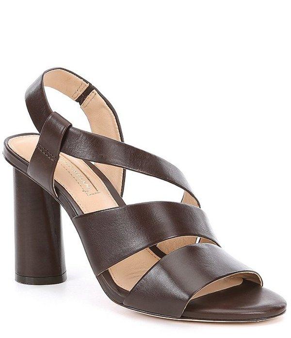 アントニオ メラーニ レディース サンダル シューズ Layren Leather Slingback Sandals Woodchip