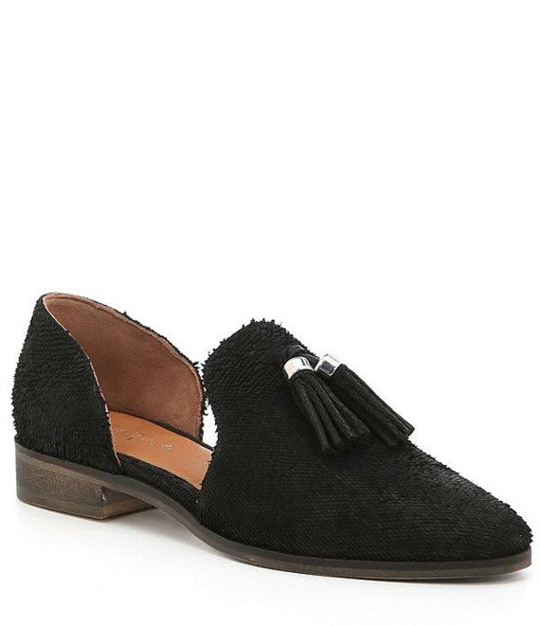 ディバトゥルー レディース スリッポン・ローファー シューズ Neat Freak Tassel Leather Loafers Black