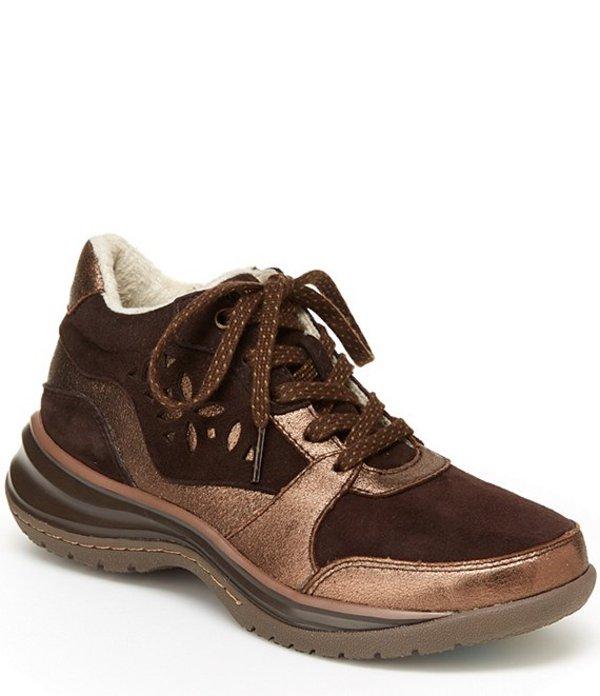 ジャンブー レディース スニーカー シューズ Dahlia Water Resistant Suede Metallic Hikers Brown/Bronze