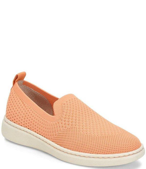 ボーン レディース スニーカー シューズ Patton Knit Slip On Sneakers Orange