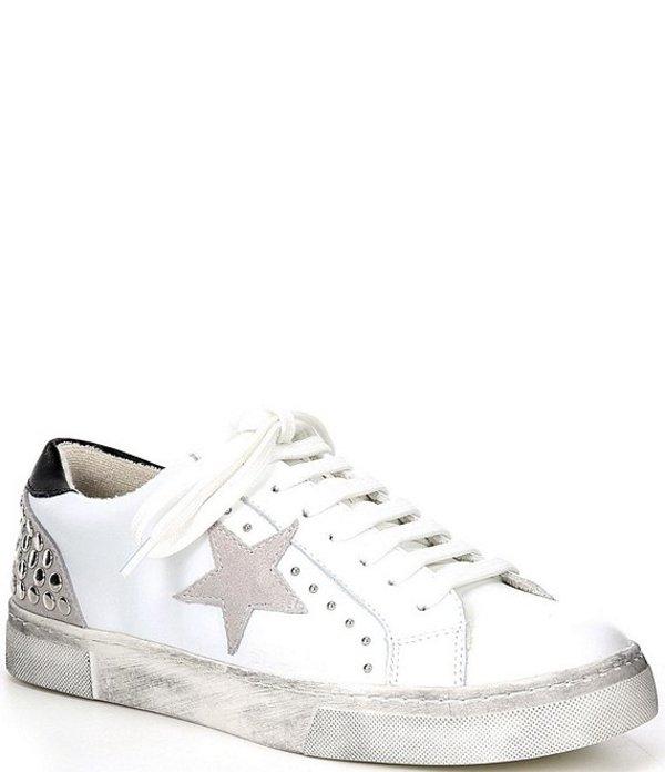 スティーブ マデン レディース スニーカー シューズ Steven New York Rubie Mixed Media Sneakers White/Multi