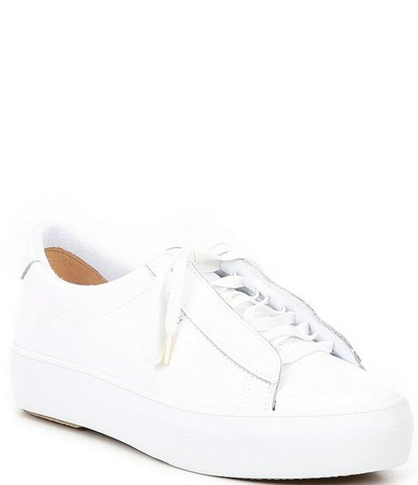 ケッズ レディース スニーカー シューズ Rise Metro Leather Sneakers White