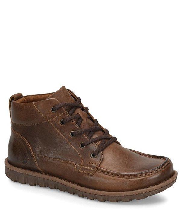 ボーン メンズ ブーツ・レインブーツ シューズ Men's Leather Gilden Chukka Boots Brown