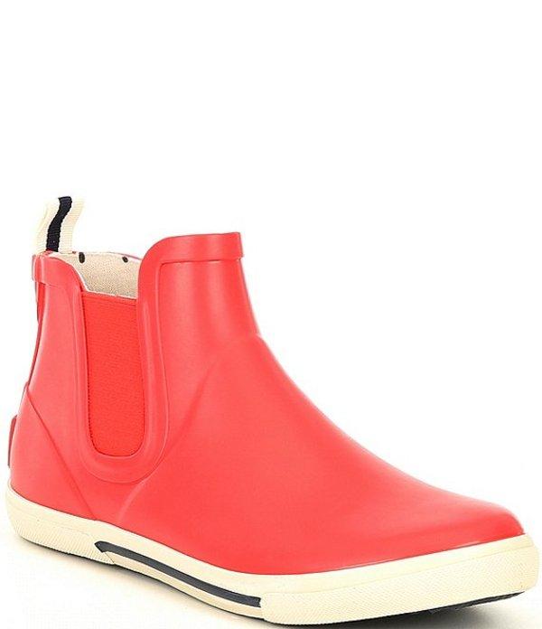 ジュールズ レディース ブーツ・レインブーツ シューズ Rainwell Rain Ankle Booties Red