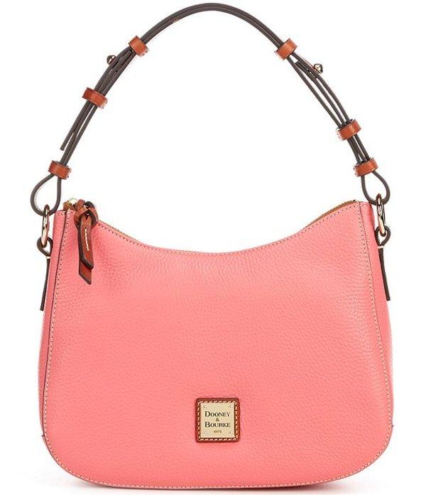 ドーネイアンドバーク レディース ショルダーバッグ バッグ Pebble Collection Small Kiley Leather Zip Top Hobo Bag Bubble Gum