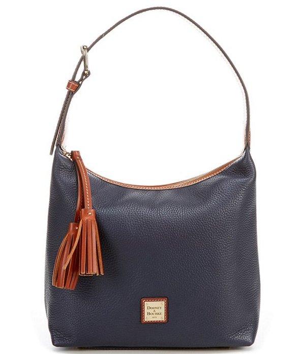 ドーネイアンドバーク レディース ショルダーバッグ バッグ Pebble Collection Paige Sack Hobo Bag Midnight Blue
