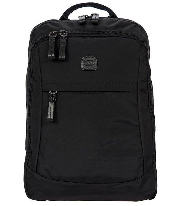 ブリックス レディース スーツケース バッグ X-Bag Metro Backpack Black/Black