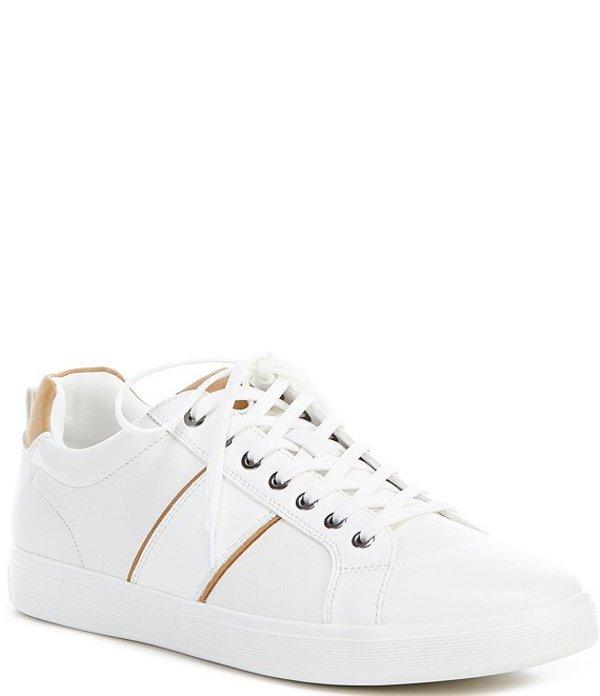 アルド メンズ ドレスシューズ シューズ Men's Cadaredien Leather Sneakers White