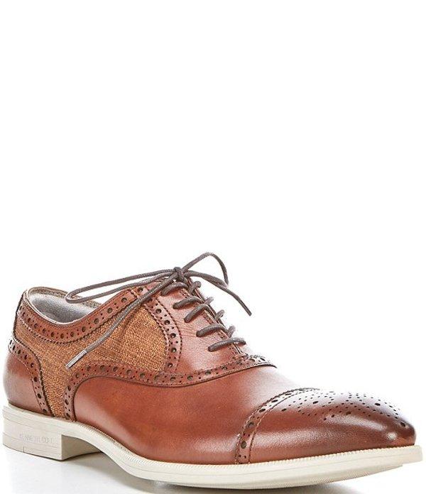 送料無料 日本正規代理店品 サイズ交換無料 祝日 ケネスコール メンズ シューズ ドレスシューズ Cognac Up Men's Shoes Multi Lace Futurepod