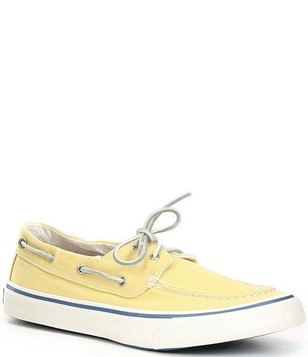 スペリー メンズ デッキシューズ シューズ Men's Bahama II Kick Back Boat Sneaker Yellow