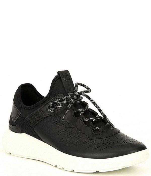 エコー メンズ スニーカー シューズ Men's St. 1 Light Leather Sneaker Black