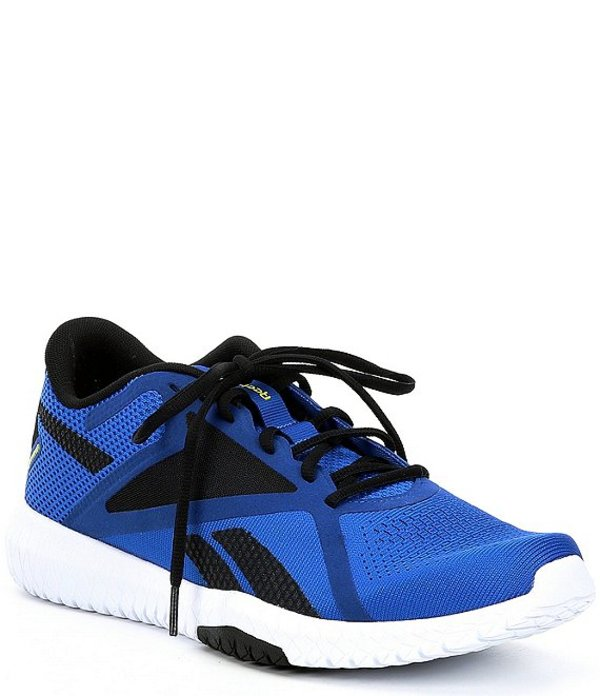 リーボック メンズ スニーカー シューズ Men's Flexagon Force 2 Trainer Humble Blue/Black/Hero Yellow