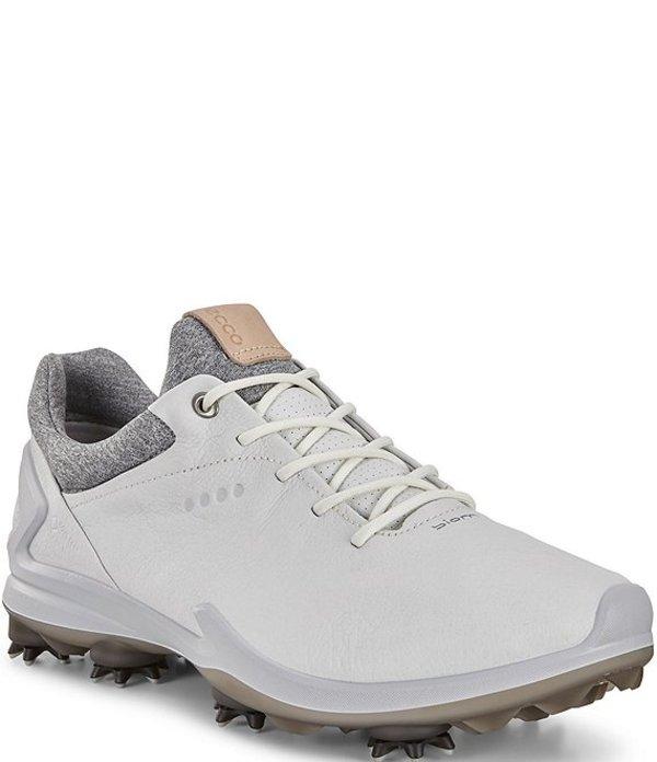 エコー メンズ スニーカー シューズ Men's BIOM G 3 GORE-TEX Golf Shoes Shadow White