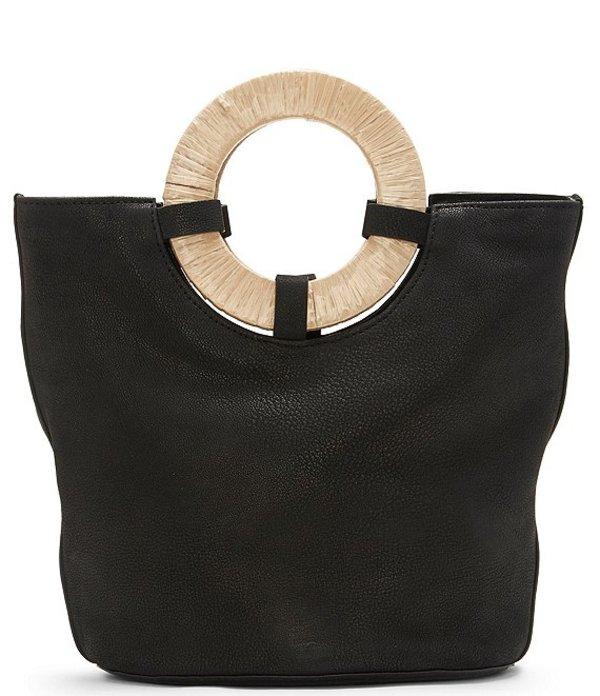 ラッキーブランド レディース ショルダーバッグ バッグ Ason Ring Handle Bucket Bag Black